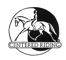 centered riding logo